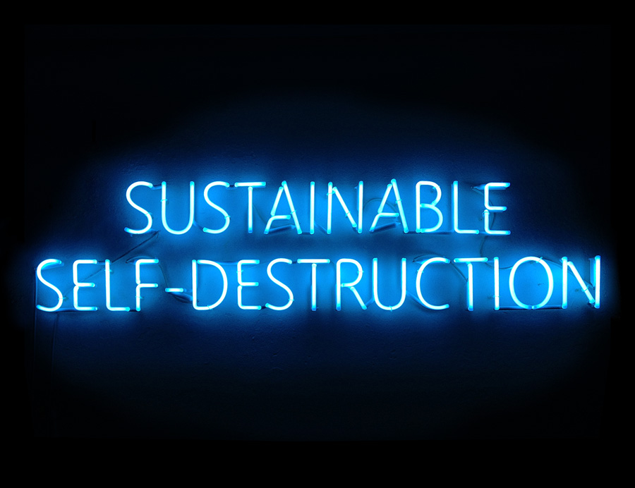 sustainable self destruction