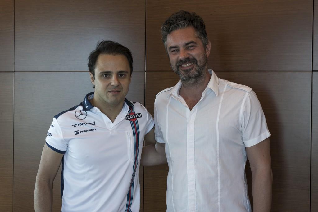 Felipe Massa & René Lönngren