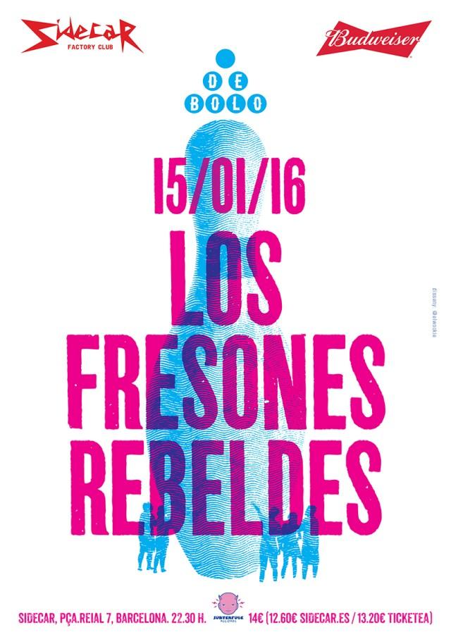 Fresones Rebeldes en Sidecar (BCN) (2)