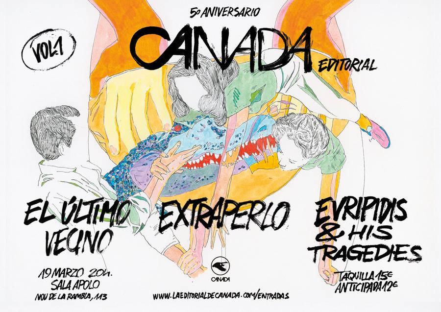 Cartel 5º Aniversario Canada Editorial