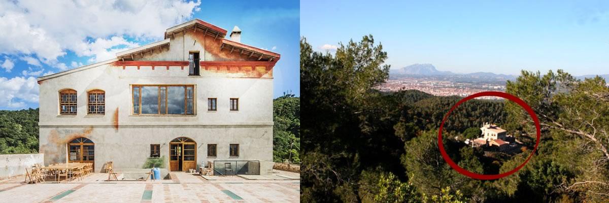 Can Valldaura - en el parque de Collserola a 15 min de Barcelona