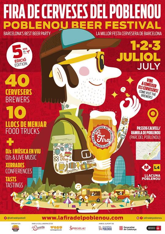Fira de Cerveses del Poblenou 2016 - Cartel
