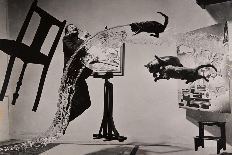 Philippe Halsman Sorpréndeme - Dalí Atomicus