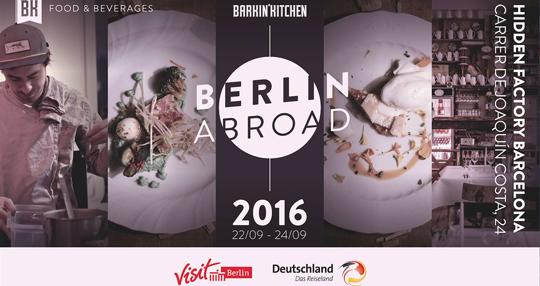 Barkin'Kitchen Berlin Abroad - Cartel