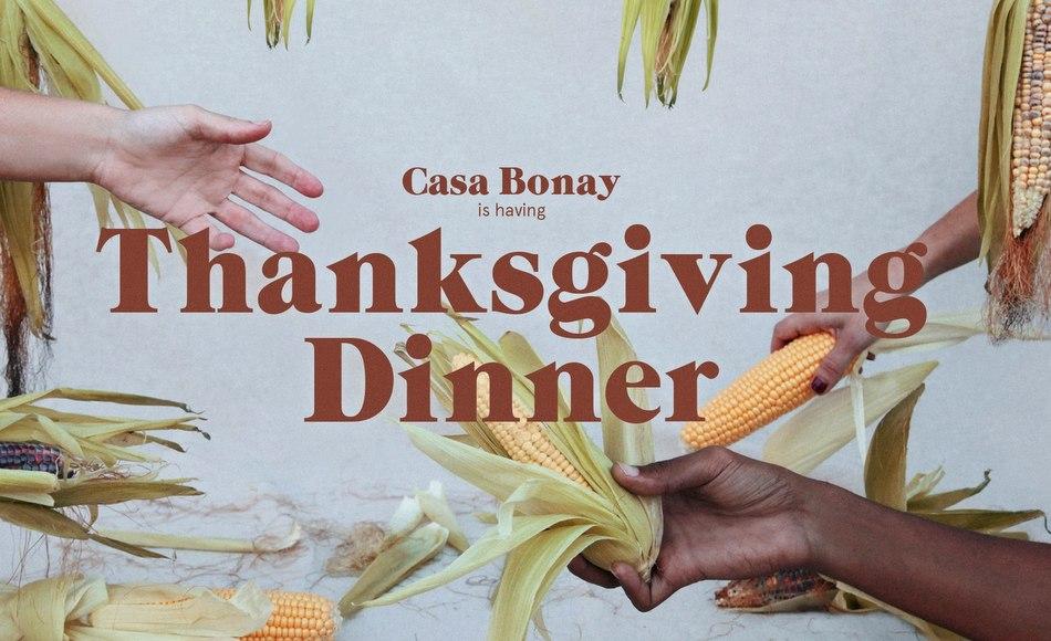 Casa Bonay Dinner