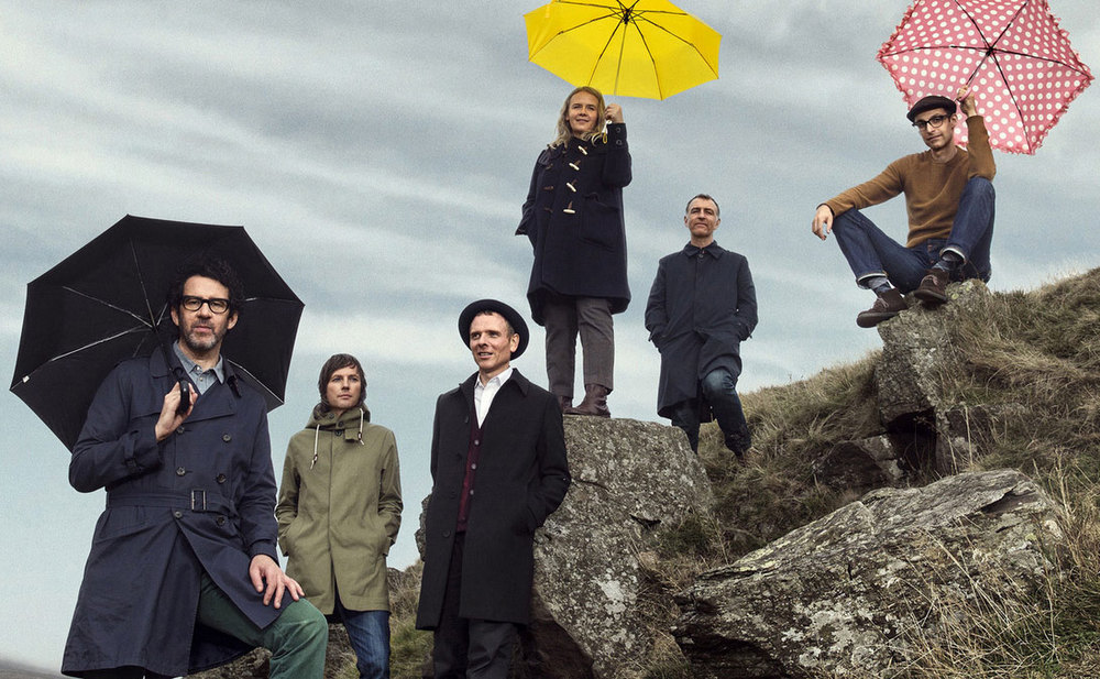 Handout photo of the band Belle and Sebastian. Credit: Soren Solkaer