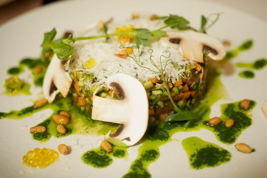 Artte Restaurante Barcelona - Tartar de verduras