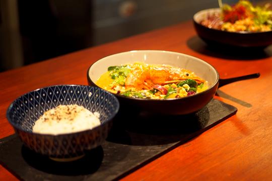 Restaurante Amaloca en Gràcia - Curry Panang