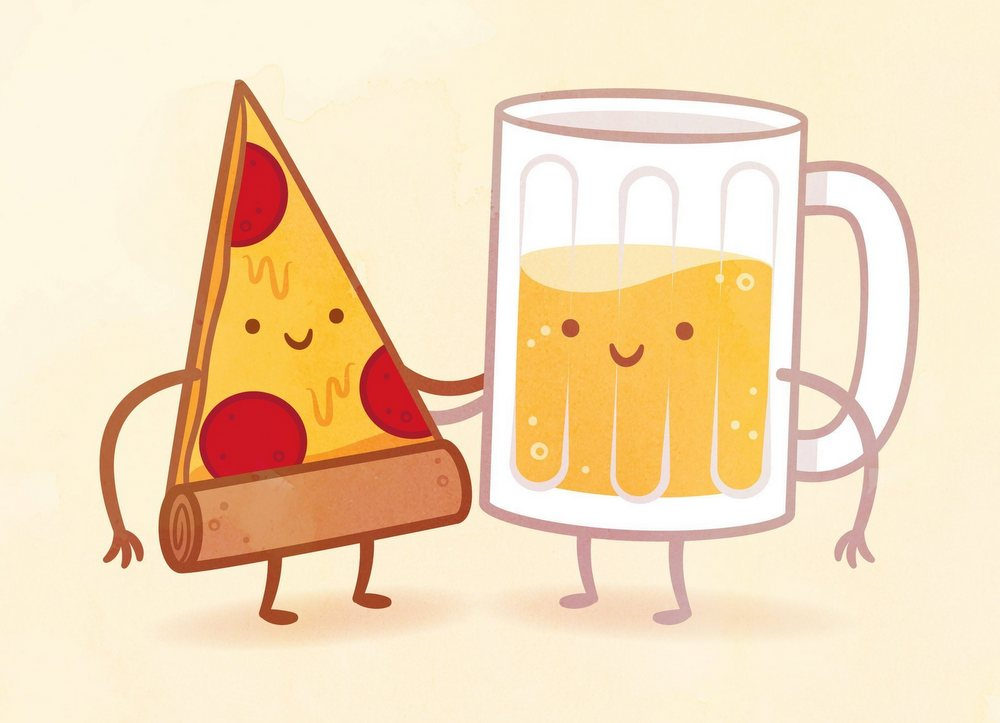 Beer and Pizza night