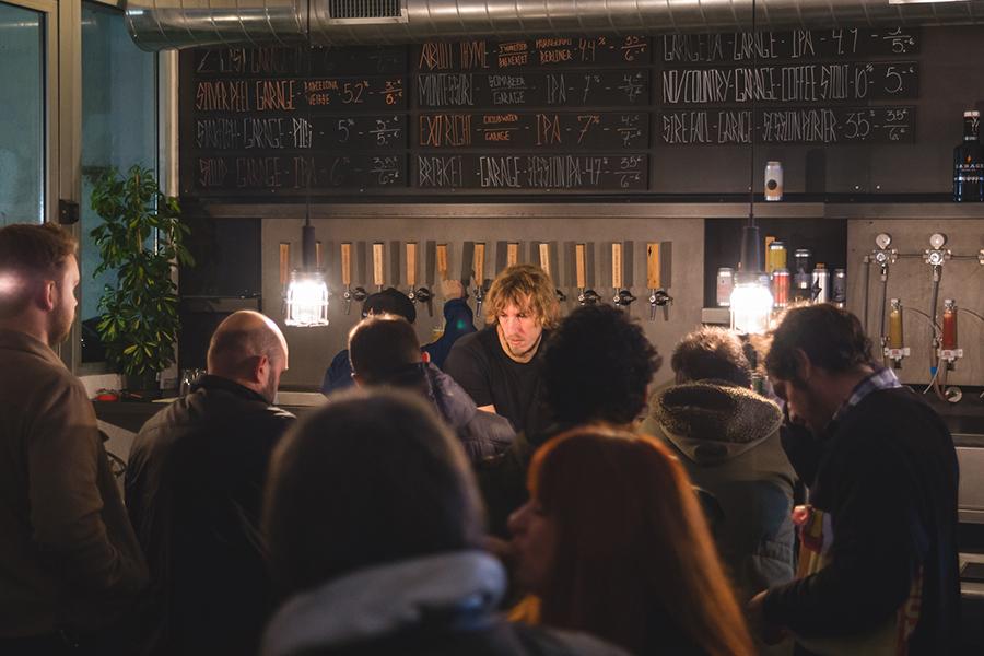 Garage Beer Co: presentación Whirled Peas (Foto evento)