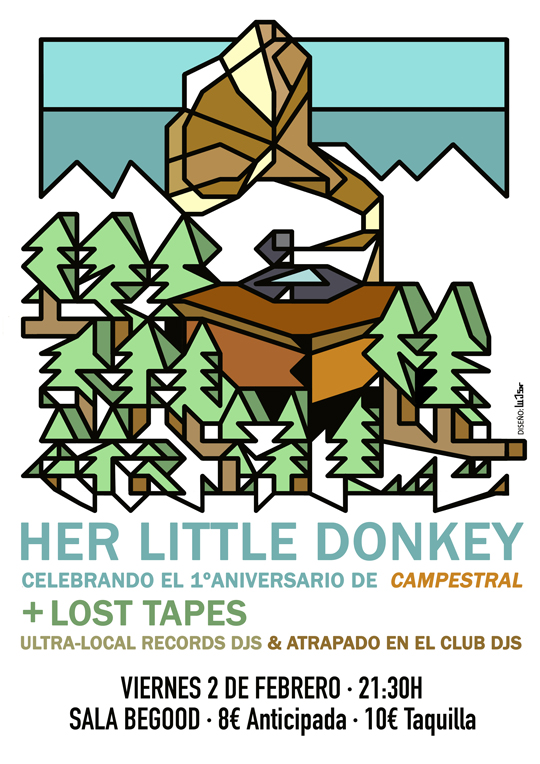Pícnic Campestral: Her Little Donkey + Lost Tapes (Cartel)