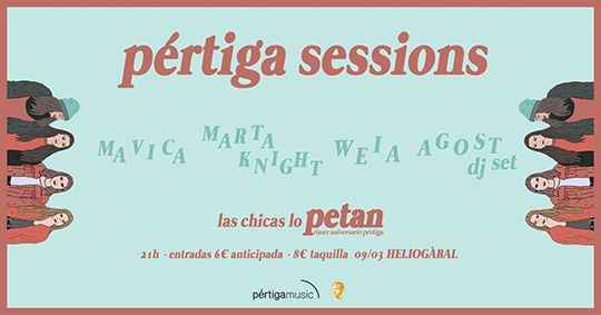 Pértiga sessions 3 - Cartel