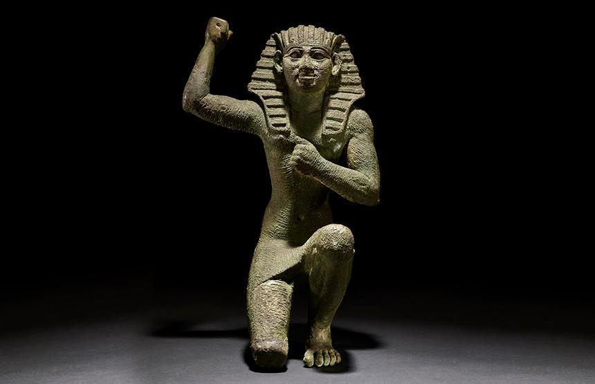 Faraon-figure of a king kneeling-carrusel-ca