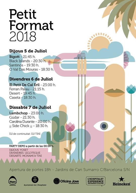 Petit Format 2018 - Cartel