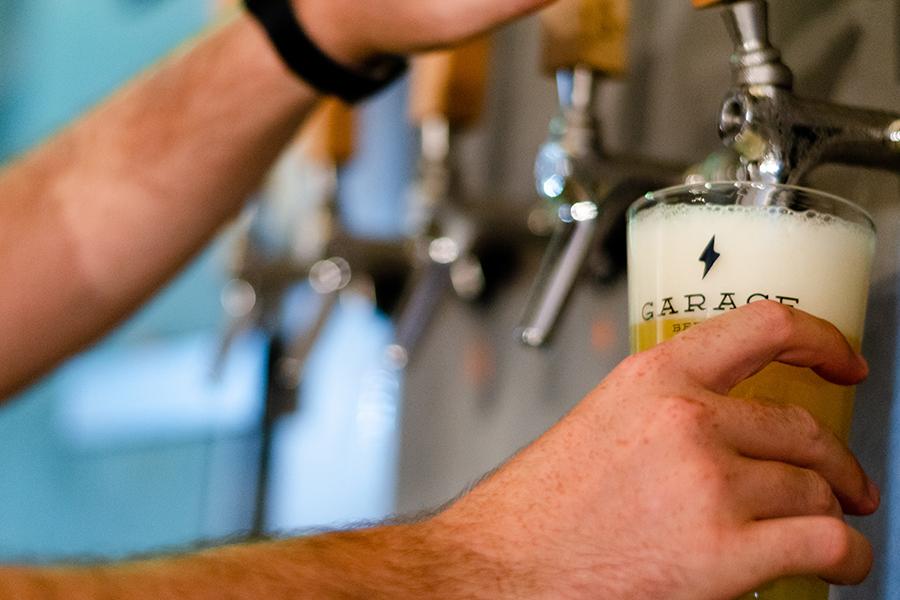 Garage Beer Co - Double Release (Portada)