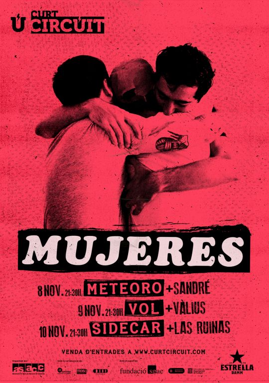 Mujeres Curtcircuit 3 fechas (Cartel)