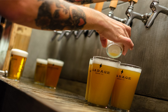 Garage Beer Co: Sant Andreu Christmas party (Grifos)