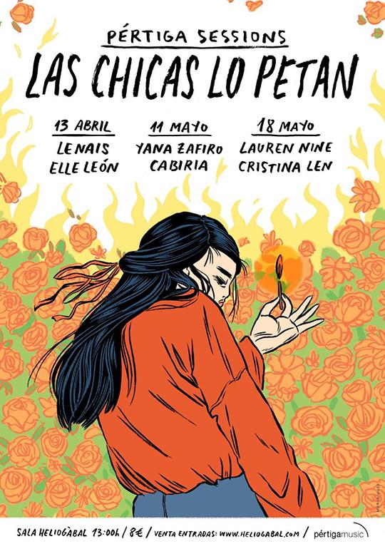 Pértiga sessions #5: Las chicas lo petan (Cartel)
