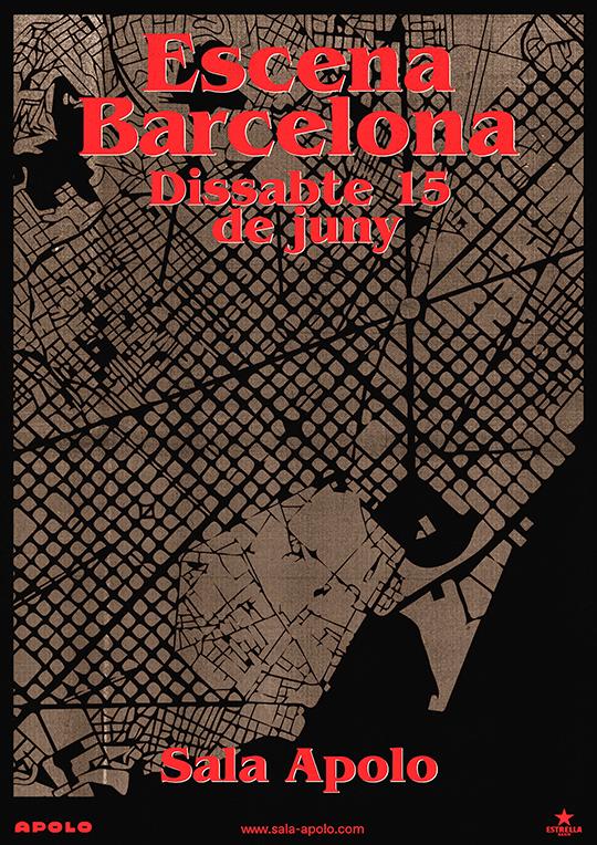 Escena Barcelona - Cartel
