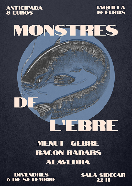 Conciertos Monstres de l'Ebre - Cartel