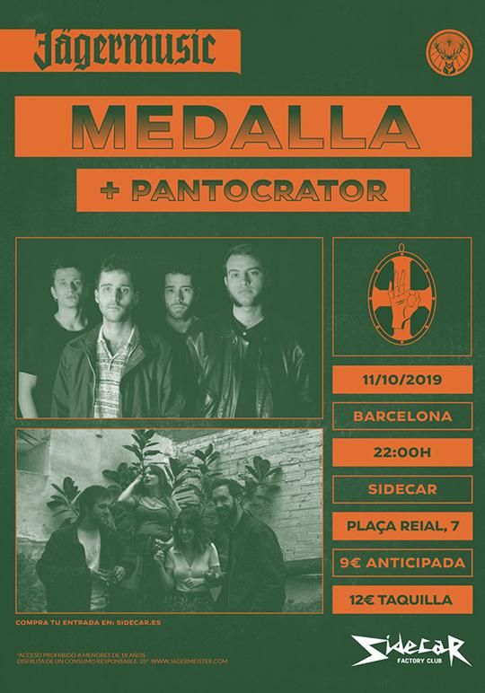 Medalla presentan LP2 + Pantocrator (Cartel)