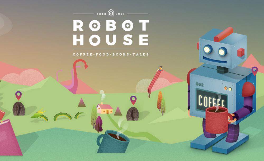 1-Landing Share Robot House