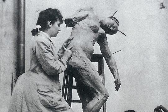 Camille Claudel - Taller