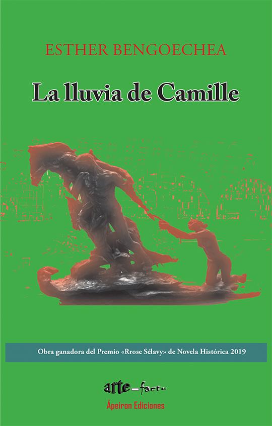 La lluvia de Camille - Portada