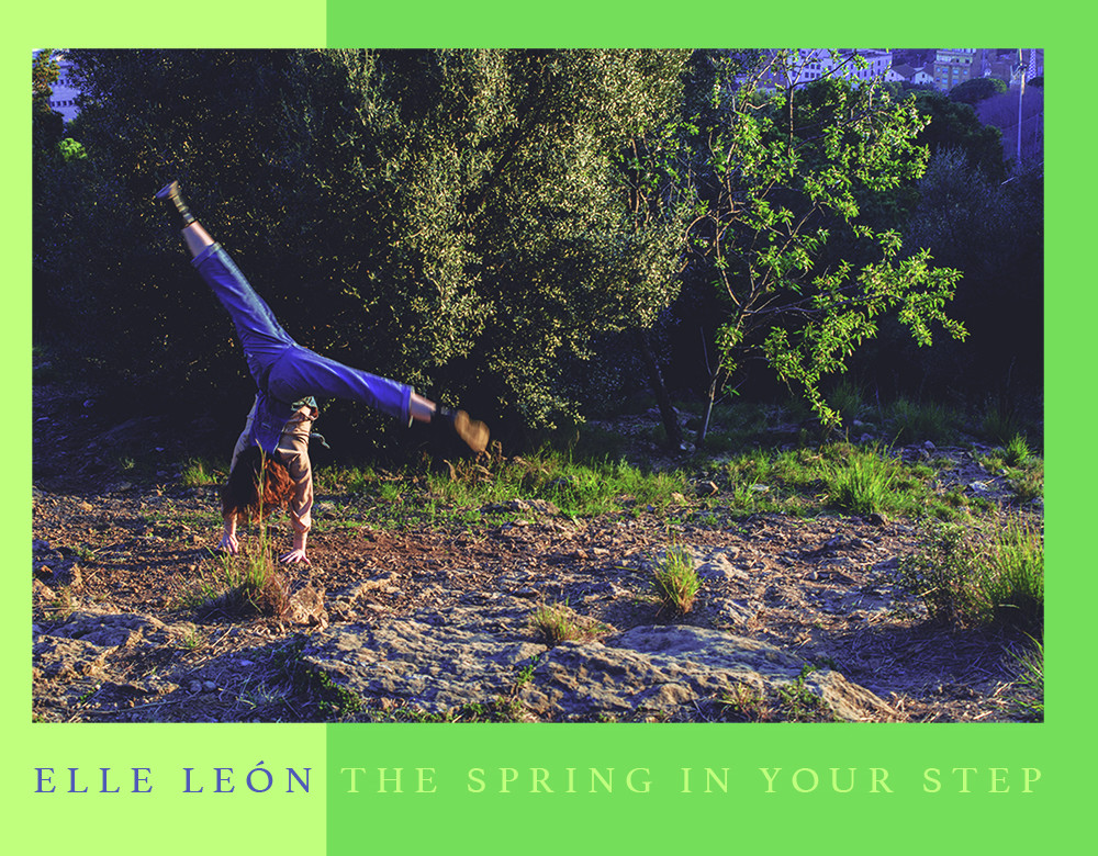 Portada Elle Leon_The spring in your step_small