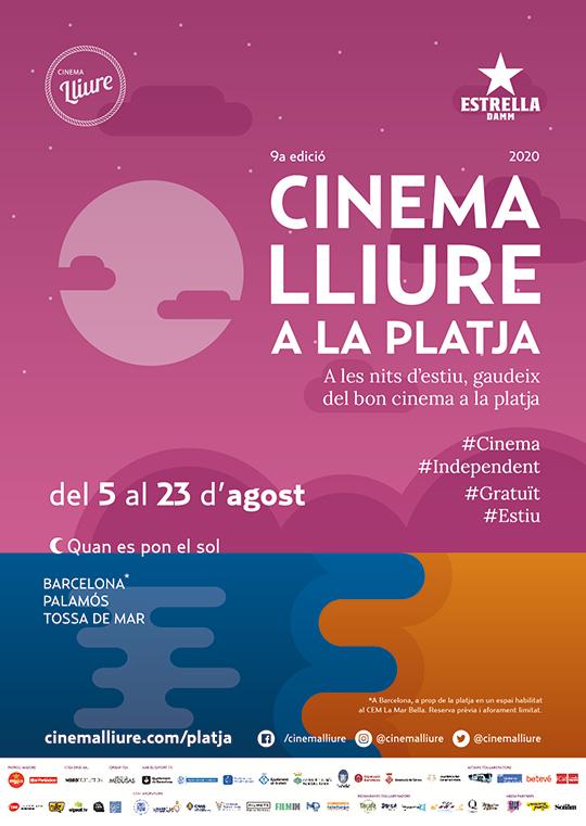 Cinema Lliure a la Platja (Cartel)