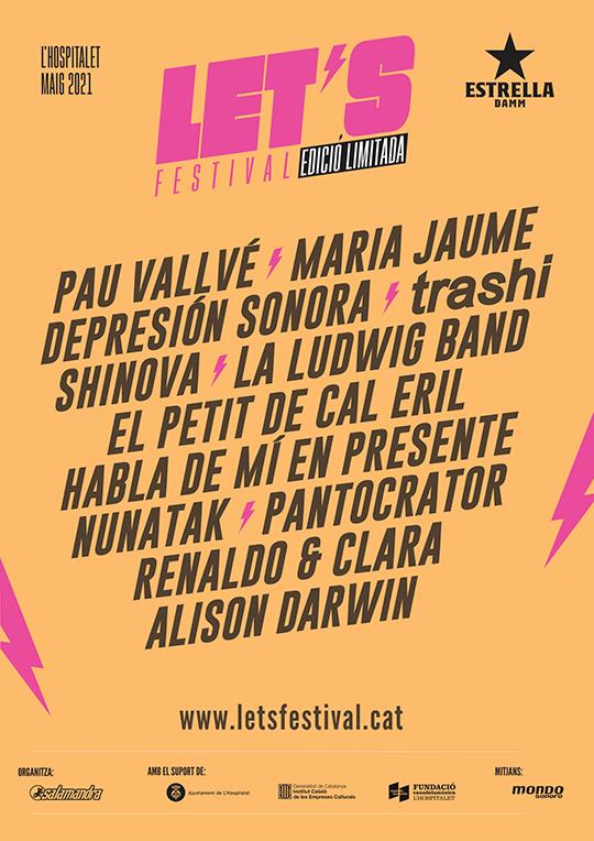 Let's Festival Edició Limitada - Cartel
