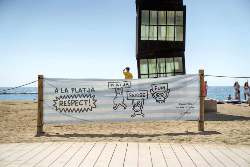 Elements d'exteriors de la campanya circuit platges